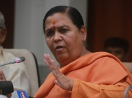 Uma stays out of LS polls, appointed BJP Vice President