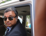 Congress fields Karti from TN, changes Maha candidate (Lead)