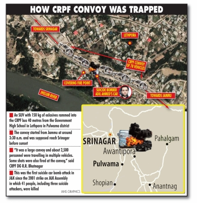 How CRPF troopers got trapped