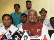 HAM chief Jitan Ram Manjhi files nomination from Gaya